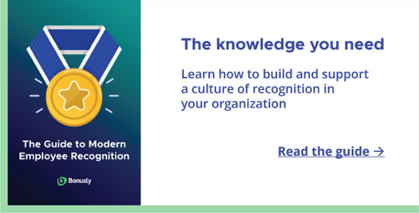 Download The Guide to Modern Employee Recognition