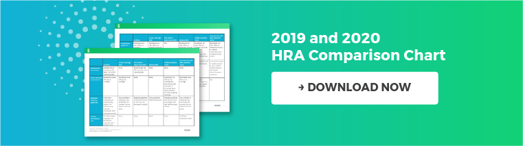 2019 and 2020 HRA Comparison Chart. Download Now.