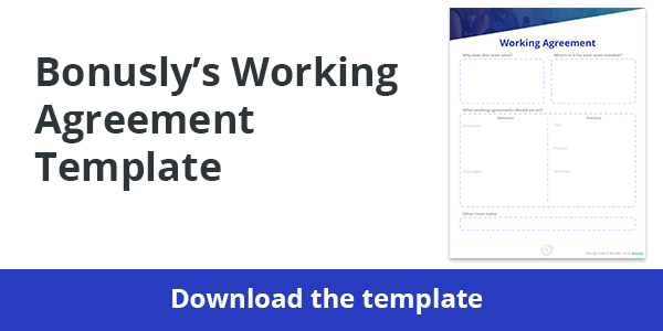 working agreement template